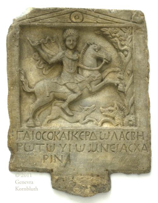 Black Thracian Horseman
